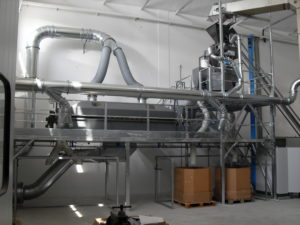 Integrated Rotary Coating Drying System
