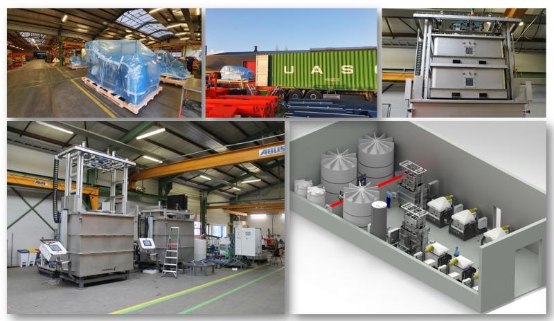 BioRinse Installation