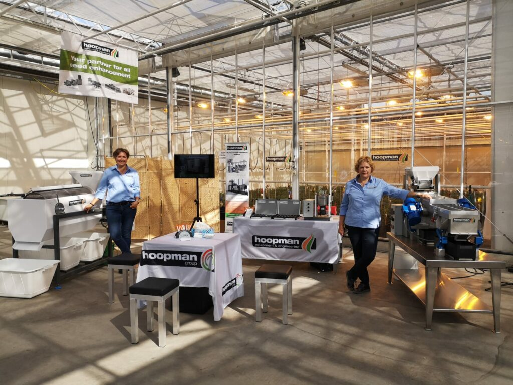 Sales team Hoopman equipment